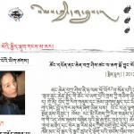 Screenshot of Jamyang Kyi's Blog