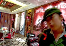 """People from Chongqing Open a Cultural Revolution Themed Hotpot Restaurant in Lhasa"" By Woeser"