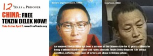 """""""Remembering Tenzin Delek Rinpoche Who Has Been Wrongfully Serving A Prison Sentence for 12 Years"""" By Woeser"""