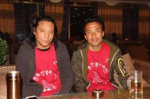 Tashi Rabten and Kalsang Tsultrim