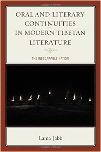 2015 07 Reading List Oral and Literary Continuities in Modern Tibetan Literature