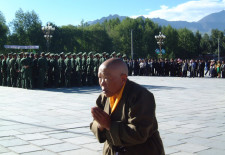 """Remembering 'July 1' on Potala Palace Square"" By Woeser"