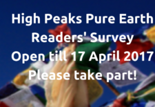 High Peaks Pure Earth Readers' Survey – Please Take Part!
