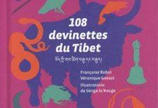 """""""108 devinettes du Tibet"""", écrit par Françoise Robin et Véronique Gossot, et illustré par Sènga la Rouge"""